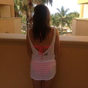 Victoria's Secret PINK Sheer Pool Coverup Dress